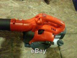 125 b Husquavarna hand held leaf blower gas new in box 28cc engine 170mph 470cfm
