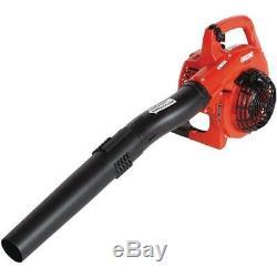 165 mph 391 cfm 25.4cc gas 2-stroke cycle leaf blower vacuum echo shredder bag