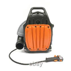 2 Stroke 65cc Gas Powered Leaf Blower Back Pack Snow Blower Dust Blowers 1.7L