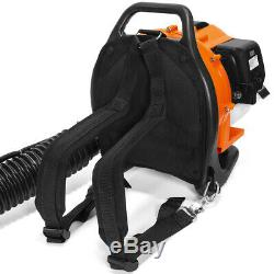 31CC 2-Cycle Gas Powered Backpack Leaf Blower Grass Yard Padded Strap EPA