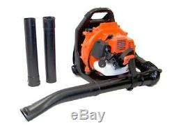 3.2HP 52CC 2Stroke Gas Leaf Backpack Blower Powered Debris with Padded Harness