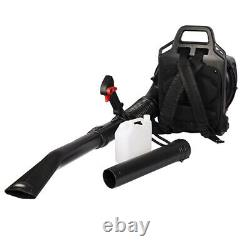 50CC Full Crank 2-Cycle Gas Engine Backpack Leaf Blower 530CFM 248MPH with Tube