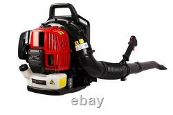 52CC 2-Cycle Gas Backpack Leaf Blower with extention tube