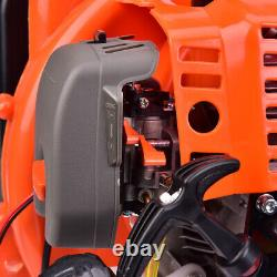 52CC 3.2HP 2Stroke Gas Backpack Powered Leaf Blower Debris withPadded Harness EPA
