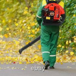 63CC 2-stroke Back Pack Leaf Blower High Performance Gas Powered US Stock