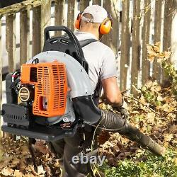 63cc 2-Stroke 3Hp High Performance Gas Powered Back Pack Leaf Blower