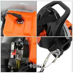 63cc 3HP High Performance Gas Powered Back Pack Leaf Blower 2 Stroke 63cc Orange