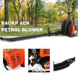 63cc Backpack Leaf Blower 63cc 2.3HP Gas Powered Back Pack Leaf Blower 2-Stroke