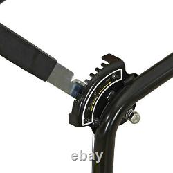 7HP Walk-Behind Leaf Blower Gas Powered Lawn Sweeper 1200 CFM 150 MPH RATO 209cc