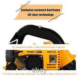 80CC 2-stroke Motor Gas 850 CFM Backpack Powerful Blower Leaf Blower