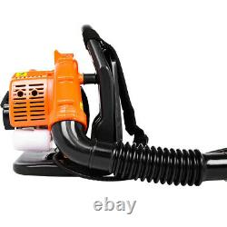 80CC 2stroke Backpack Powerful Blower Leaf Blower Motor Gas 850 CFM 7500R/min US