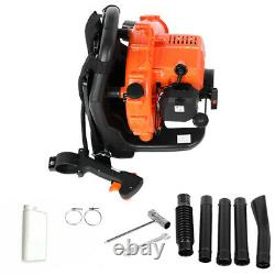 BackPack Leaf Blower 2-Stroke 65cc 2.3hp High Performance Gas Powered USA NEW