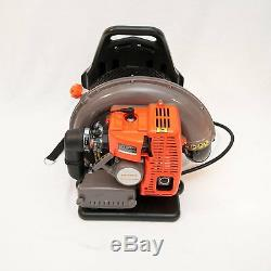 Back Pack Leaf Blower, 63cc 2 Stroke Gas Powered, EPA Approved, Easy Starting