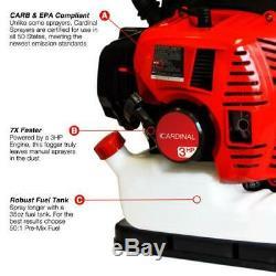 Backpack Fogger, Sprayer, Duster, Leaf Blower 3.5 Gallon 3HP Gas 2 STROKE 65CC