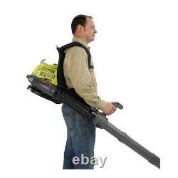 Backpack Gas Powered Leaf Blower Grass 175 MPH Light Weight Best New