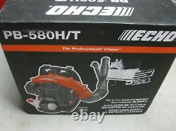 Brand New! 2020 ECHO PB-580T 58.2cc Gas Backpack Blower Professional Grade