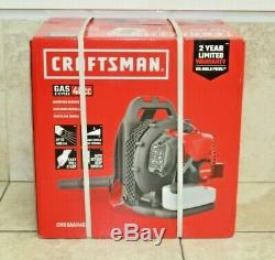 CRAFTSMAN 46cc 2-cycle 220MPH 490CFM Gas Backpack Leaf Blower CMXGAAH46BT NEW