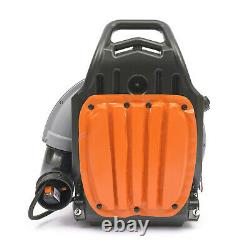 Commercial 65CC 2-Stroke Gas Powered Leaf Blower Grass Blower Gasoline Backpack