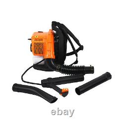 Commercial Backpack Leaf Blower Gas Powered Grass Lawn Blower 2-Stroke 5CC NEW