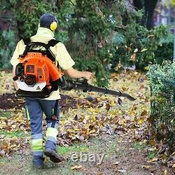 Commercial Gas Leaf Blower Backpack Gas-Powered Backpack Blower 2-Stroke 65 CC