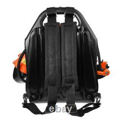 Commercial Gas Powered Grass Lawn Blower Backpack Leaf Blower 42.7CC 2 Stroke