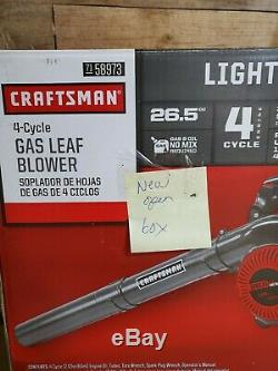 Craftsman 26.5cc 4 Cycle Gas Leaf Blower A073001