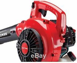 Craftsman B215 25cc 2-Cycle Engine Handheld Gas Powered Leaf Blower Garden Yard