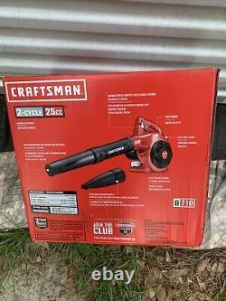 Craftsman Gas Leaf Blower 2-Cycle 200-MPH 430-CFM B210 25CC Handheld