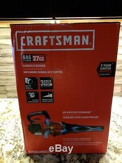 Craftsman Leaf Blower Model B225 650 CFM 135 MPH 27cc, 2-Cycle Gas CMXGAAMR27MF