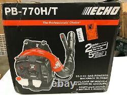 ECHO 234 MPH 756 CFM 63.3 cc Gas 2-Stroke Cycle Backpack Leaf Blower