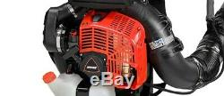 ECHO Backpack Blower with Tube-Mounted Throttle 211 MPH PB-8010T