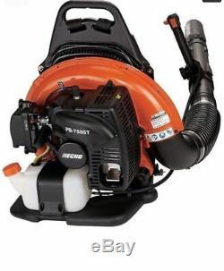ECHO Backpack Leaf Blower PB-755ST 233 MPH 651 CFM 63.3cc 2cycle 5 Year warranty