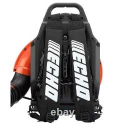 ECHO Backpack Leaf Blower Tube Throttle 233 MPH 651 CFM 63.3cc Gas 2-Stroke