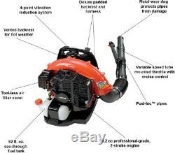 ECHO Gas Leaf Blower 215 MPH 510 CFM 58.2cc 2-Stroke Cycle Backpack