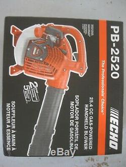 ECHO Handheld Leaf Blower Gas Engine 25.4 cc 170 MPH 453 CFM Light Weight Yard