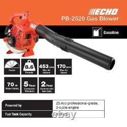 ECHO Leaf Blower Gas 2-Stroke Cycle Commercial Heavy Duty Grass Yard Cleanup