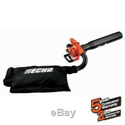 ECHO Leaf Blower Shredder Mulcher Vacuum ES-250 Gas 2 Stroke Cycle Handheld Bag