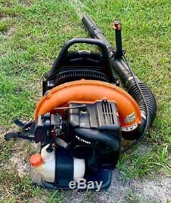 ECHO PB-755ST Backpack Leaf Blower 233 MPH 63.3cc Gas 2-Cycle + Throttle Control
