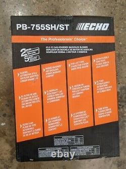 Echo Gas Powered Backpack Leaf Blower 63.3CC