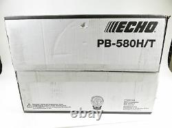 Echo PB-580H/T Gas 2-Stroke Cycle 216 MPH 517 CFM 58.2 cc Backpack Leaf Blower