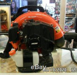 Echo PB-580T Gas-Powered 510 CFM/215 MPH Backpack Leaf Blower