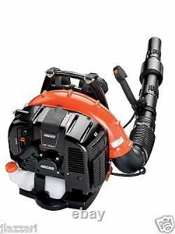Echo PB-760LNT 63.3 CC Tube Mounted Throttle Back Pack Blower, 535 CFM, 233 MPH