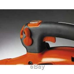 Gas Leaf Blower Handheld Powerful Reliable Efficient 125B 28-cc 2-Cycle 170-MPH