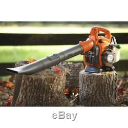Gas Leaf Blower Handheld Variable Speed Throttle Stop Switch Automatically Reset