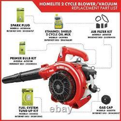 Gas Powered Leaf Blower Cordless Vacuum Mulcher Handheld Portable Tool 150 MPH