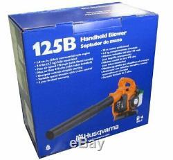 Husqvarna 125B 28CC 170 Mph Gas Leaf/Grass Handheld Blower 2 Cycle 425 CFM
