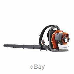 Husqvarna 130BT Backpack Gas Powered Leaf Lawn Grass Blower 1.3HP 965102208