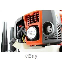 Husqvarna 150BT 50cc 2 Cycle Gas Leaf Backpack Blower with Harness (Damaged)