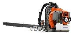 Husqvarna 350BT 50-cc 2-cycle 180-MPH 692-CFM Gas Backpack Leaf Blower