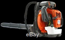 Husqvarna 570BTS 236 MPH 972 CFM 65.6cc Gas Backpack Leaf Blower BEST PRICE
